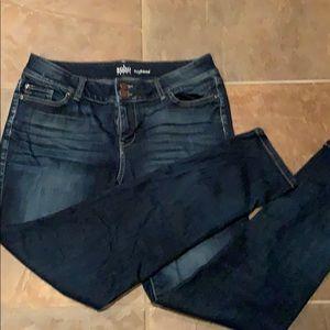 New York & Co boyfriend jeans size 10